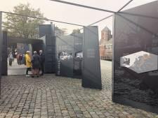 Expositie over generaal Maczek op Kasteelplein Breda