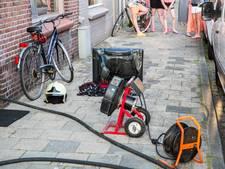 Televisie vliegt in brand in woning Roosendaal