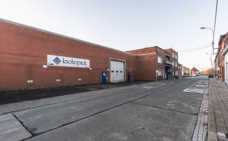 Het voormalige verpakkingsgebouw van Knohopack in de Bissegemsestraat wordt gesloopt, om plaats te ruimen voor BOXX.