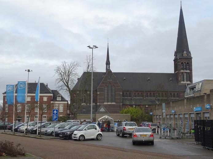 Albert Heijn in hartje Sas van Gent.