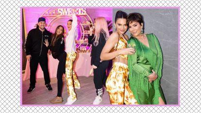 Topmodel Kendall Jenner viert feest in een Belgische outfit
