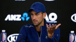 """Einde blessurelast Djokovic in zicht: """"Ben op de goede weg"""""""