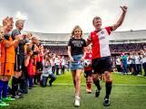 Dirk Kuyt neemt afscheid in bomvolle Kuip