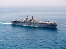 VS haalt Iraanse drone neer die Amerikaans schip 'bedreigde'