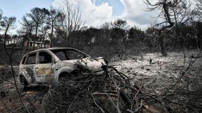 Aantal doden van Griekse bosbranden opgelopen tot 97