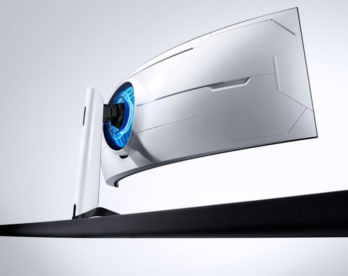 Samsungs nieuwe gebogen pc-monitor is gericht op gamers.