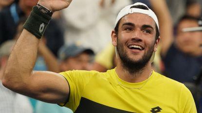 Italiaan Berrettini bereikt op US Open voor het eerst kwartfinale grandslam
