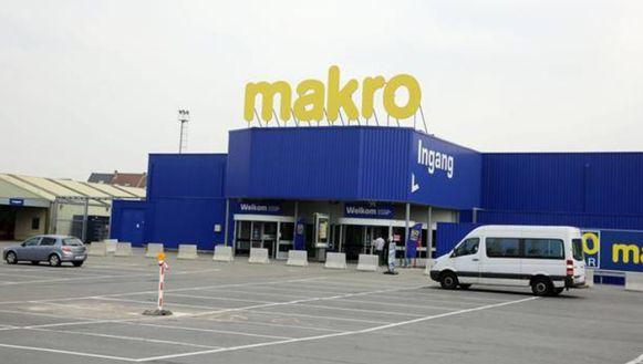 In de Makro in Sint-Pieters-Leeuw sluit de vestiging van Mediamarkt.
