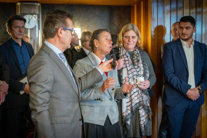 Marjolein Faber reageert op toespraak Lars Westra.