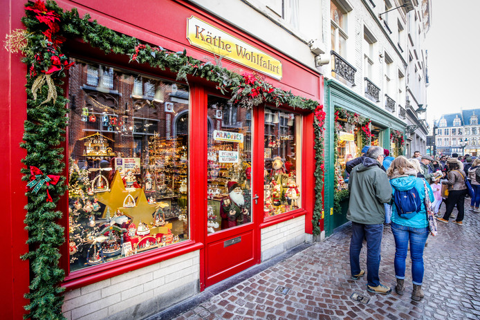 Brugge kerstwinkels: Käthe Wohlfahrt