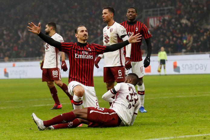 Zlatan Ibrahimovic tekende voor de 4-2.