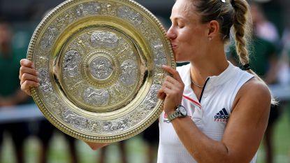 Wimbledon-winnares Kerber is zeker van plaats op WTA Finals in Singapore