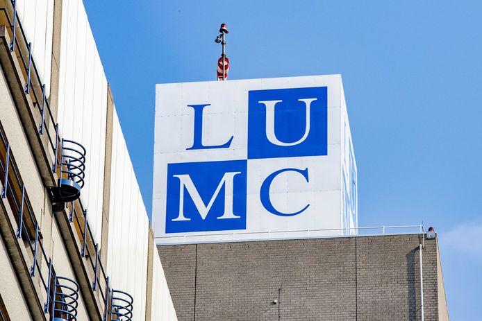 Exterieur van het Leids Universitair Medisch Centrum, LUMC.