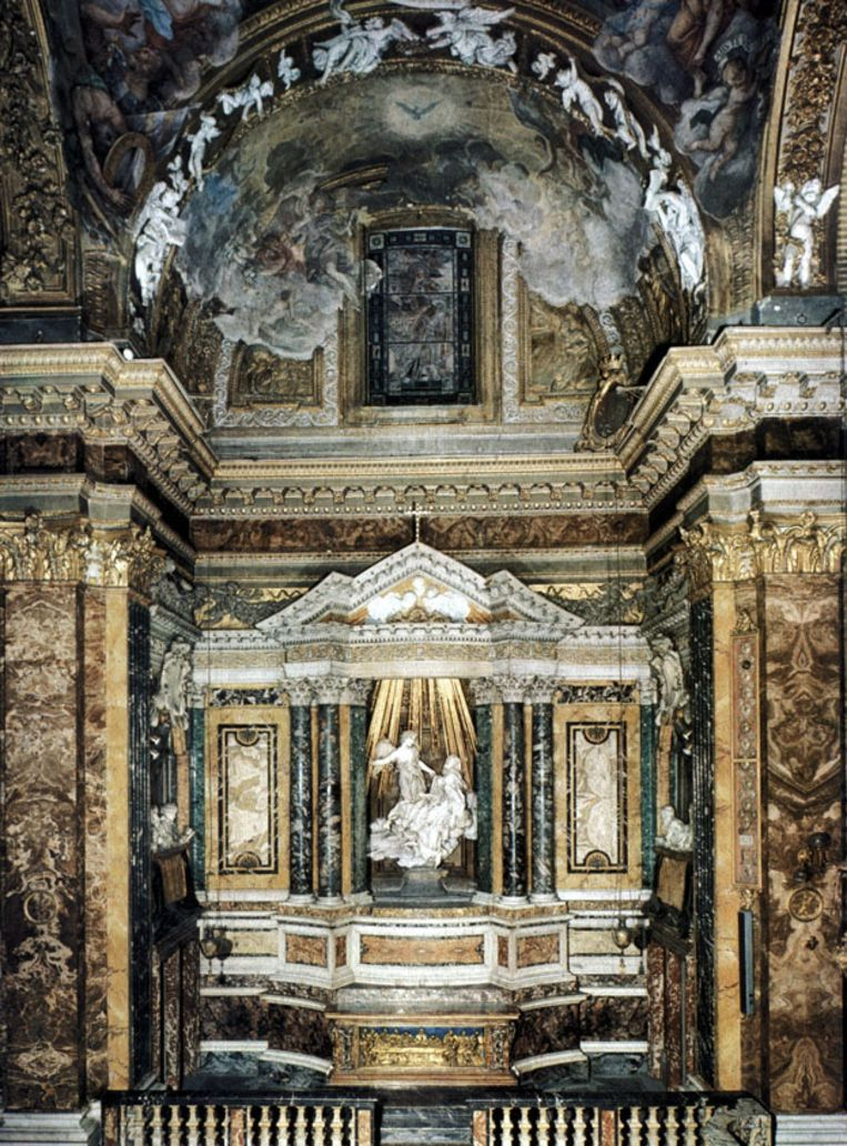 De Cornaro kapel van Bernini. Beeld Oberlin College