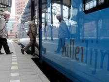 Minder treinen op Valleilijn wegens werkzaamheden