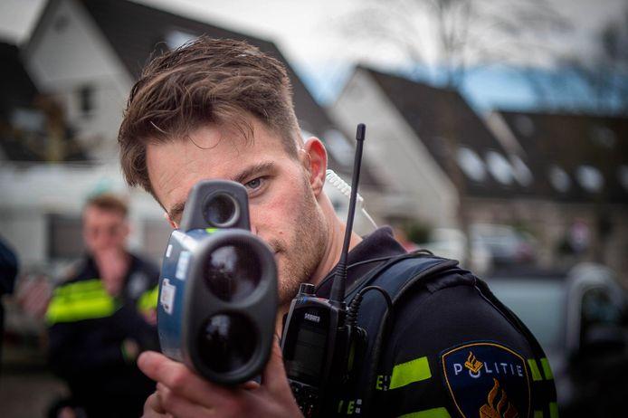 Foto ter illustratie. Een eerdere snelheidscontrole in Beuningen.