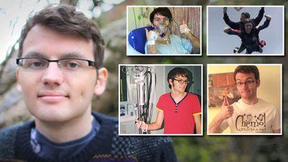 Terminale Stephen (19) sterkt onverwacht aan en deelt inspirerende levensvideo