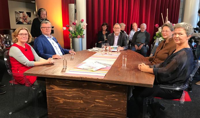 Het discussieprogramma Politiek Café Valkenswaard.
