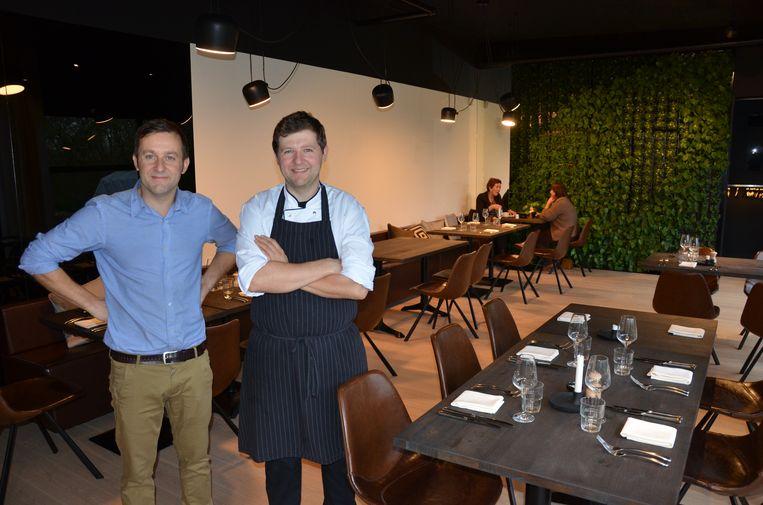 Kim en Stijn Audenaert van Restaurant Vos.