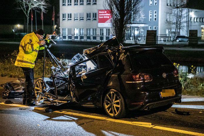 Ersnstig ongeval op de A73 ter hoogte van Beuningen.