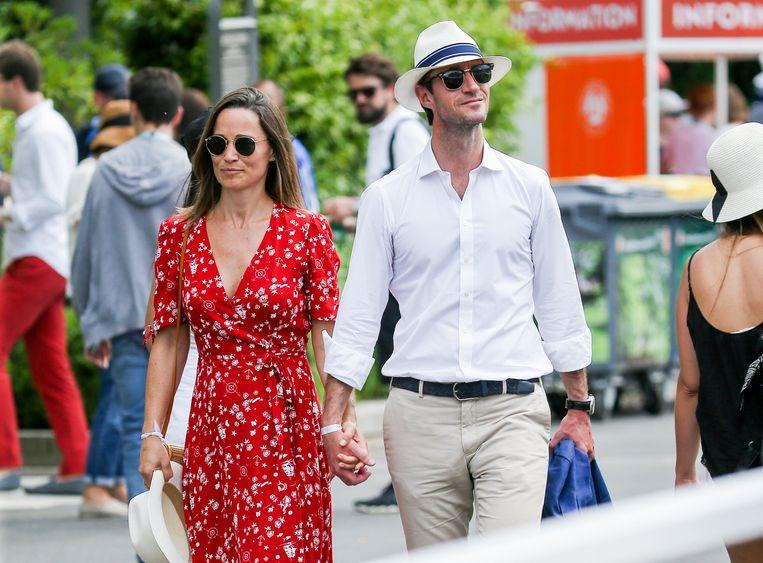 Pippa Middleton en James Matthews.