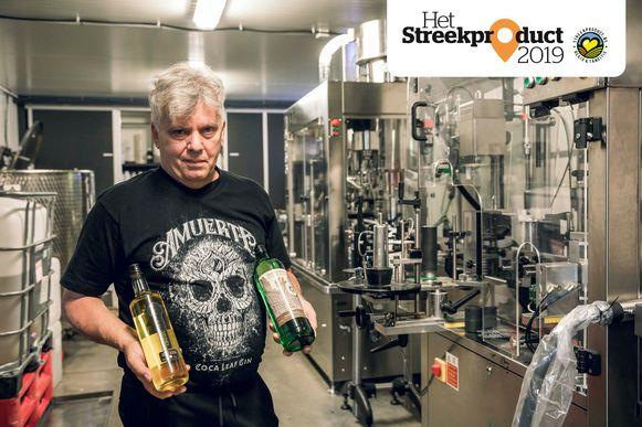 Ronny Wouters produceert naast heidebitter ook Hasseltse graanjenever.