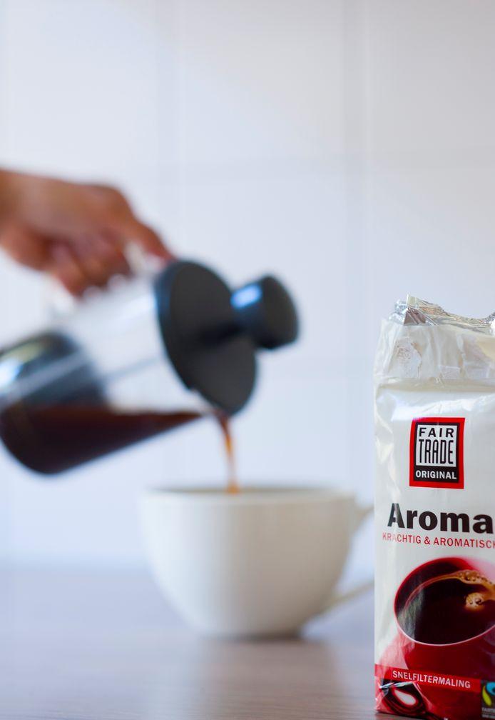 Fair Trade koffie.