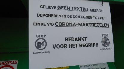 "Sint-Laureins roept op: ""Leg textiel niet rond afgesloten kledingcontainers"""