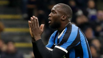 Het kan niet alle dagen prijs zijn: Lukaku en Inter onderuit tegen Napoli in heenmatch halve finale Coppa Italia
