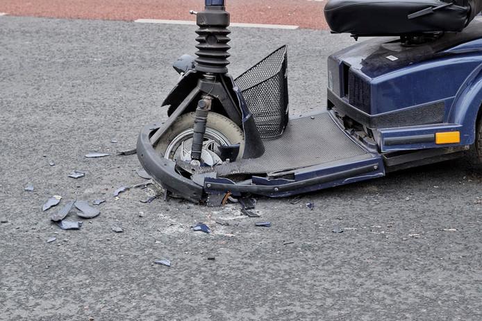 Ongeval scootmobiel Berkel-Enschot