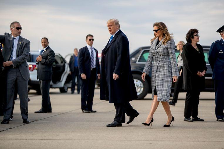 President Trump valt het onderzoek van Mueller voortdurend aan. Volgens hem is het verkwisting van geld en tijd omdat hij volgens eigen zeggen nooit heeft samengewerkt met de Russen in de presidentsverkiezingen. Beeld AP