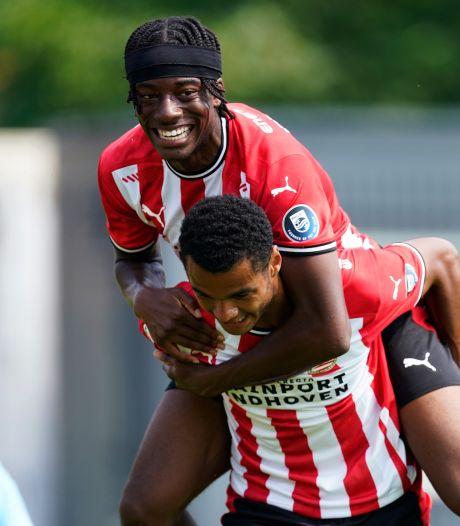 Gakpo en Lammers bezorgen PSV zege tegen Duitse derdeklasser