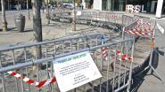 Hier mag je niet meer zitten: coronamaatregelen steeds zichtbaarder in Roeselaarse straatbeeld