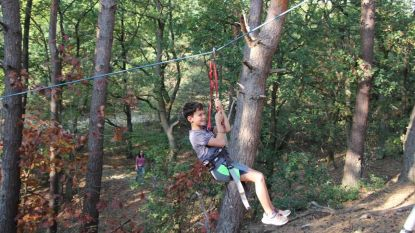 450 kinderen ravotten tijdens Bosplezier
