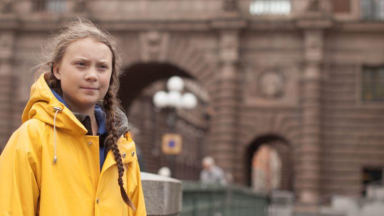 De Zweedse klimaatactiviste Greta Thunberg vertelt in I Am Greta ook over haar aandoening, het syndroom van Asperger. Beeld