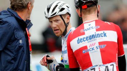 Puntenaftrek in UCI-klassement voor Sam Bennett na elleboogstoten aan Quintana in Parijs-Nice - Geen Ronde van Catalonië voor Van der Poel