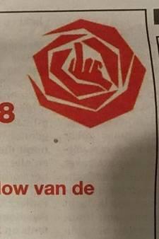 Pijnlijke fout: PvdA steekt middelvinger op in advertentie