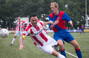 Kilic in het seizoen 2013-2014 als aanvoerder van VV Bennekom
