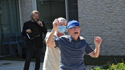 Marino Punk en Luc Dufourmont doen bewoners rusthuizen en serviceflats dansen