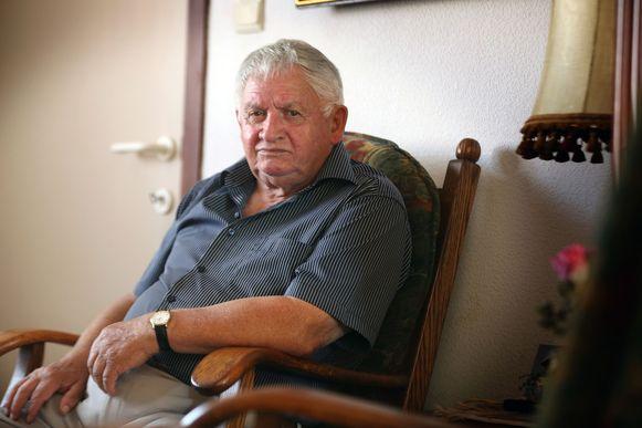 Robert Blomme (86) maakte als kind de Tweede Wereldoorlog mee.