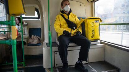 Mondmaskers verplicht op openbaar vervoer in Moskou