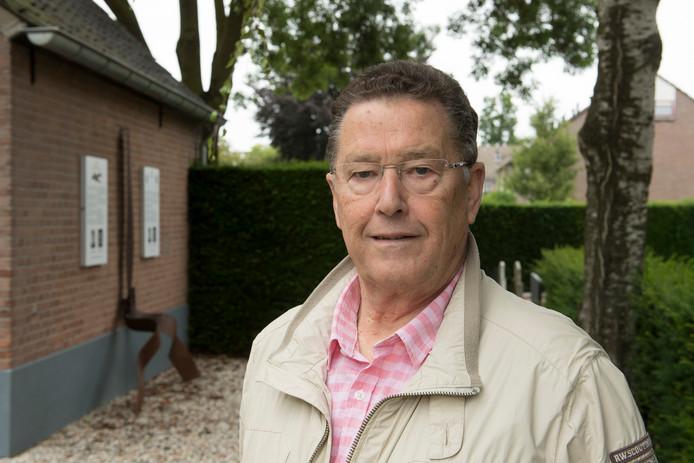 Vrijwilliger Cees van Meer.
