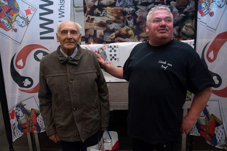 BK Wiezen in Kalken : Oudste deelnemer Jos Dillen (92).