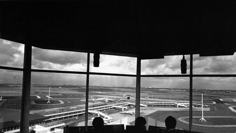 Uitzicht op de omliggende gebieden vanaf Schiphol Beeld anp