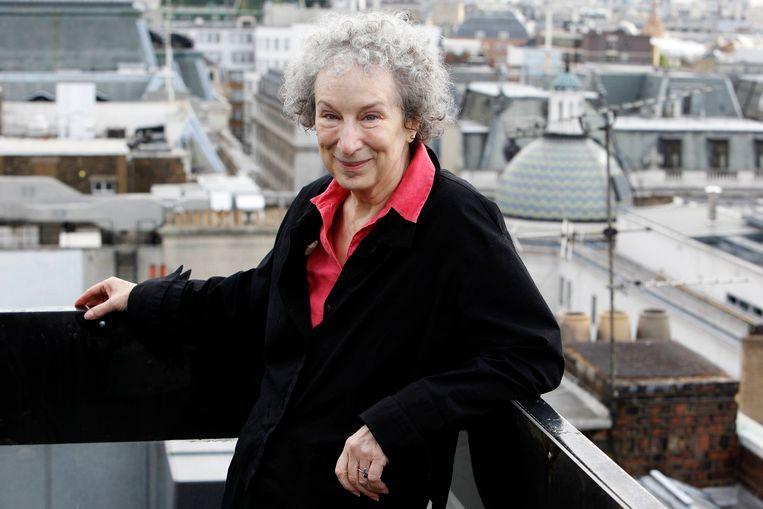 Auteur Margaret Atwood, die de roman 'The Handmaid's Tale' schreef.