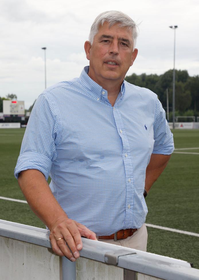 Henk Ceelen, de nieuwe voorzitter van HSV Hoek.