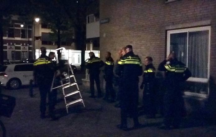 Inval in woning bij Valkenberg Breda Foto Palko Peeters