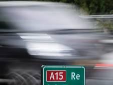 Wegwerkers buffelen: A15 tussen Gorinchem en Deil weer open