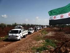Syrische rebellen trekken stad Afrin binnen