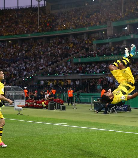 Aubameyang bezorgt Dortmund DFB Pokal met Panenka
